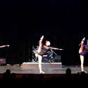 "Just For Kicks Acro Trio performing to ""Sound of Silence"""
